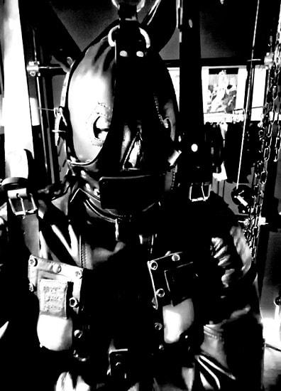 leather bondage suspension